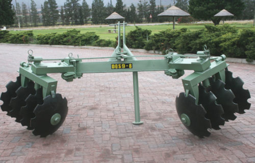 Reversible Disc Ridger for vineyards and orchards 3-Point.