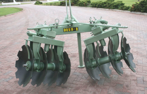 Reversible Disc for vineyards & orchards 3-Point.