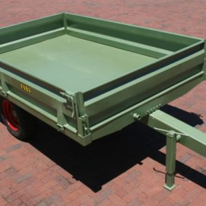 Trailer with drop sides - FBD3
