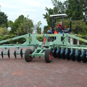 Ridger for nuts and fruit trees.