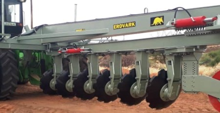 Erdvark Reversible On Land Disc Plough RDPH-6