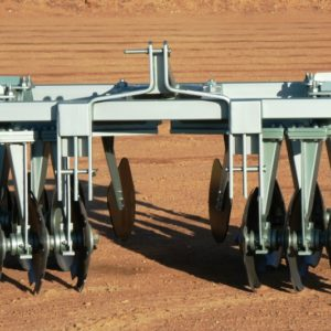 Tandem Disc for row crops.